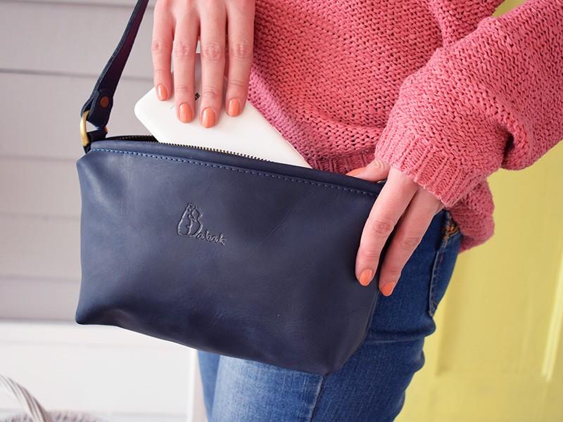 08494a03a01c Цена на кожаную сумку Gracia Blue | Купить кожаную сумку — Babak