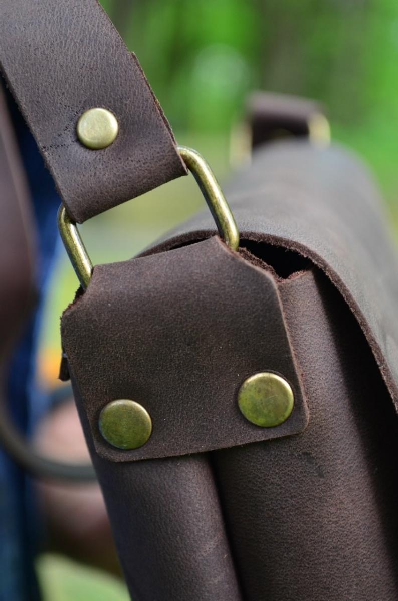 faf1549613f9 Кожаные сумки на плечо, Сумка Kolibri Brown купить - изделия из кожи ...