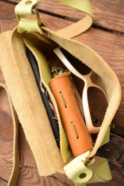 e0ccae317313 Кожаные сумки на плечо, Сумка Kolibri Lemon-shine купить - изделия ...