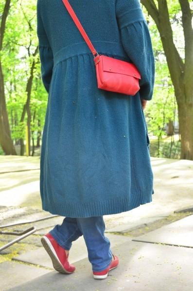 d8112a3f2493 Кожаные сумки на плечо, Сумка Kolibri Red купить - изделия из кожи ...